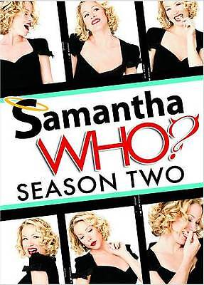 Samantha Who? - The Complete Second Season (DVD, 2009, 3-Disc Set) NEW