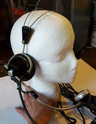 Vintage Bell System Western Electric 52 Switchboard Operator Telephone Headset