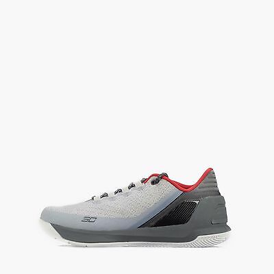Under Armour Curry 3 Low Men's Basketball Shoes Grey/Red