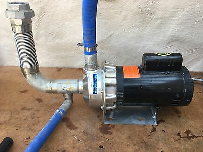 Goulds NPE 316 S/S Centrifugal Pump 1-1/2 x 2-6,