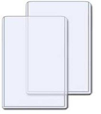 (50) 5X7 POSTCARD or PHOTO PLASTIC RIGID TOPLOAD TOPLOADER STORAGE HOLDERS