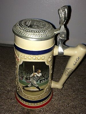"Babe Ruth New York Yankees ""Premier Issue"" The Bradford Museum Beer Stein"