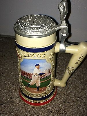 "Cy Young ""Premier Issue"" The Bradford Museum Beer Stein"