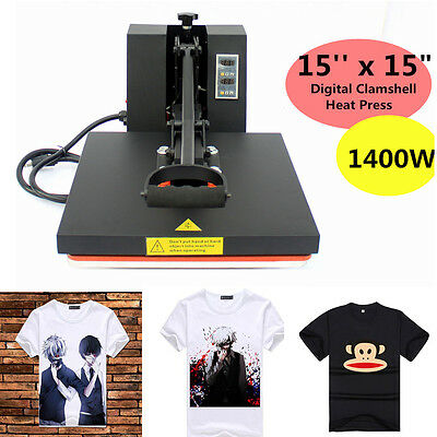 Digital Heat Press Machine Sublimation For T-Shirt Cotton , Art Article Printer