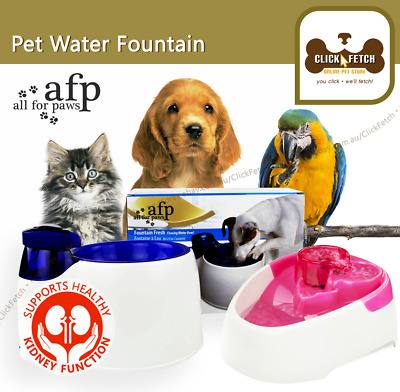 Electric Drinking Fountain Water Filter Automatic Cat Dog Bird All For Pets