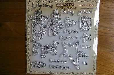 Molly Blooms Christmas Stamp Set - Huge Craft Room Clear Out