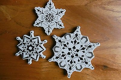 Stampendous! Stamps - Snowflakes- Huge Craft Room Clear Out