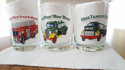 Hess 1996 Classic Truck Series Glasses in Excellent Condition
