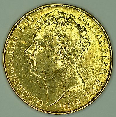 George IV, Solid Gold Two Pound Coin 1823