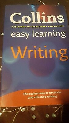 collins easy learning writting