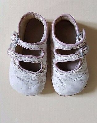 Collectible Ornamental Pottery Vintage Christening Baby Shoes