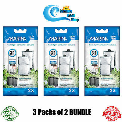 Marina i160 & i110 Genuine Replacement Cartridges for Chemical Filtration 3 Pack