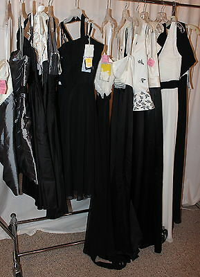 NWT Mixed Lot of 13 platinumn,charcoal ivory black long & short formal dresses