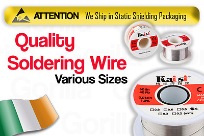 Solder Wire Soldering Reel 50g 60/40 Tin lead Rosin Core Flux Tube Best Quality