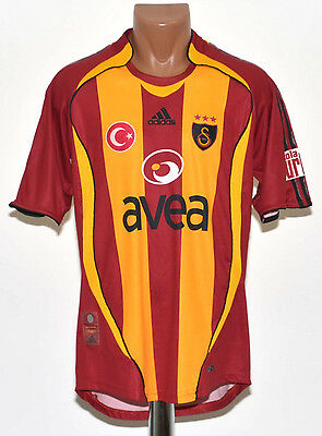 Galatasaray Turkey 2006/2007 Home Football Shirt Jersey Trikot Adidas
