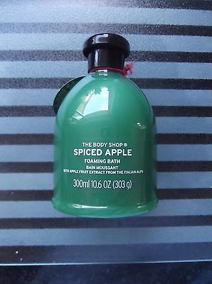 The Body Shop Spiced Apple Foaming Bath 300ml NEW WITH TAG RRP £10