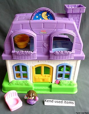 FISHER PRICE LITTLE PEOPLE Grappige geluiden huis happy sounds home Haus maison