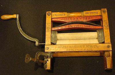 Antique Anchor Brand Clothes Wringer Salesman Sample Lovell Manufacturing Co