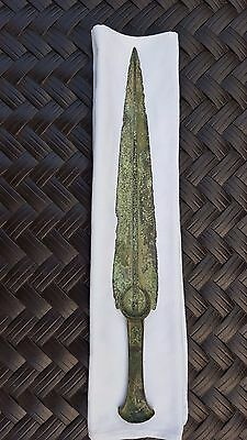 Bronze Crescent hilt Dagger from Marlik or Luristan - RARE