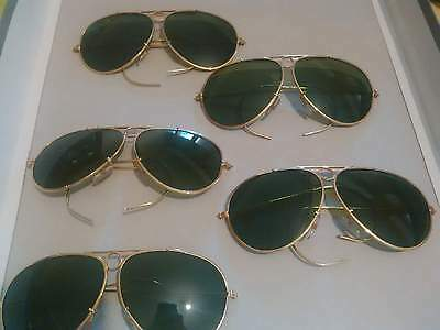 lotto occhiali sole vero vintage lenti in vetro vintage sunglasses glass lenses