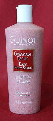 Gommage facile soins corps GUINOT/Gel exfoliant corporel lissant