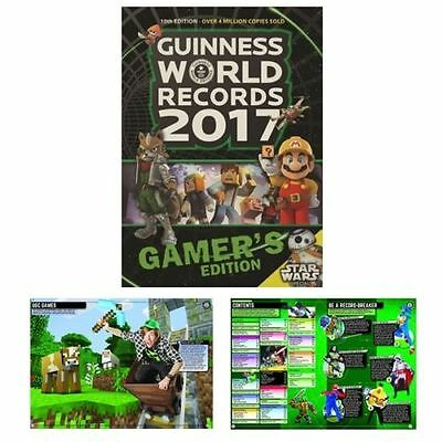 Guinness Book of World Records 2017 Gamer's Edition Ultimate Game Record Book