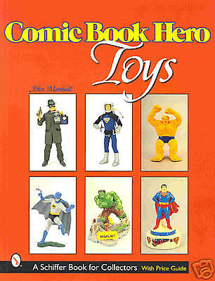 COMIC BOOK HERO TOYS Superman, Batman, Spiderman, Hulk +++NEU/NEW/NEUF !