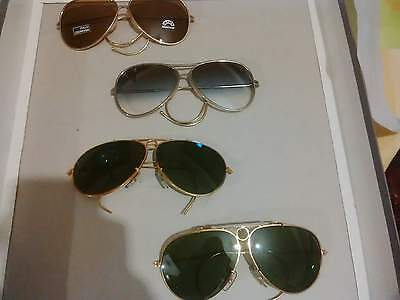 occhiali vintage lenti in vetro sunglasses vintage glass lenses