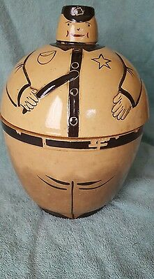 Vintage Policeman Cookie Jar