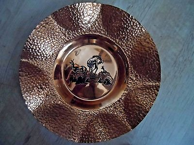 Vintage Copper Plaque Wall Hanging Plate  South Africa