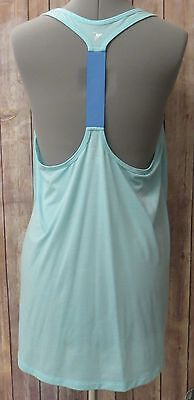 Old Navy Women's Active Blue T Back Loose Fit Tank Top Size XL