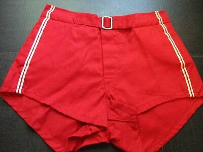 Vintage 50s mens gym shorts, size 28 Felco Never Worn