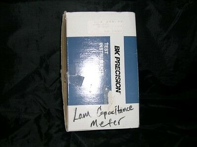 Universal Lcr Meter By Precision Test Instrument Great Condition In Box W/ Paper