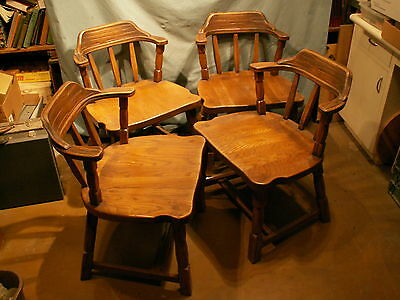 Brandt Ranch Oak Mates Chairs Set Of Four