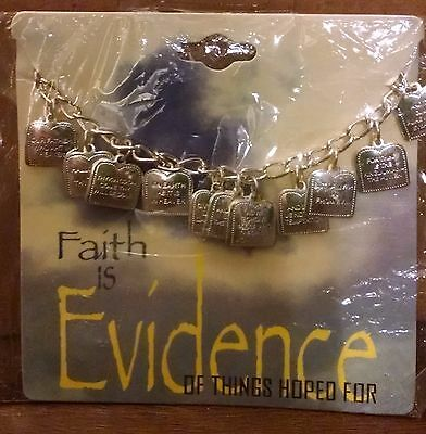The Lord's Prayer Bracelet Part of Faith is Evidence Collection By Swanson New