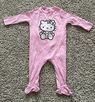 Hello Kitty Sleepsuit 3-6 Months