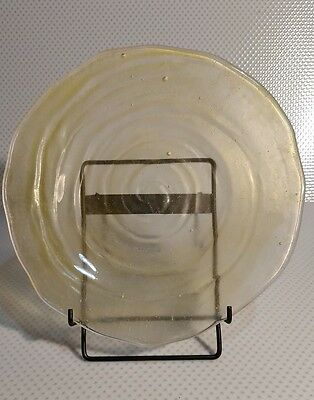 Yellow (Honey) Consolidated Glass Catalonian Salad Plate