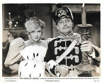THE SONG OF SONGS Orig Still 1933 Marlene Dietrich, Lionel Atwill