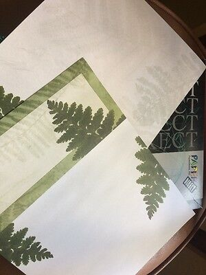 50 Paper Direct 3 Panel Brochures 8.5x11 Nature Sierra Trees Forest Leaves
