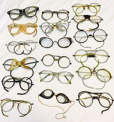VINTAGE LOT of VARIOUS TYPES of Safety Glasses and Goggle AS-IS-AS-SHOWN