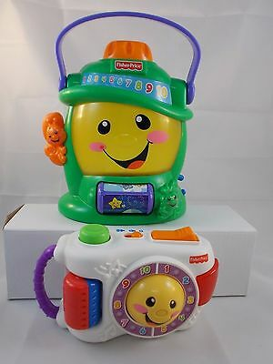 Fisher Price Laugh & Learn Lantern & Camera Play Toy Lot