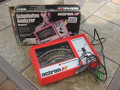 Actron Automotive Analyzer Model 617 Made in USA