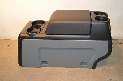 09-10-11-12-13 F150 Center Console...oem...new!!!...black/grey...near Perfect!!!