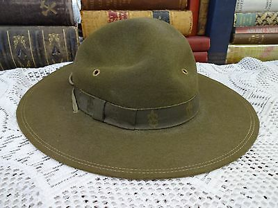 Vintage Boy Scouts of America Official Hat - Size 6 5/8 ~ G.W. Alexander ~ EXC++