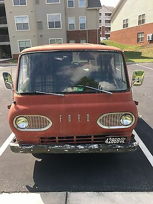 Rare Awesome  1963 Ford Econoline Running Van Many New Inner Parts