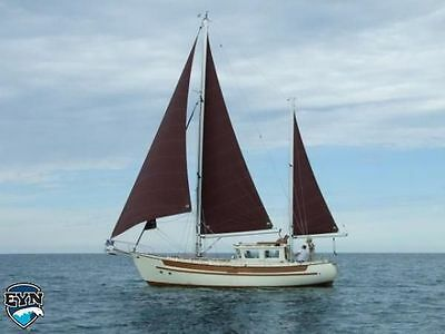 Fisher 30 Motor Sailor 1976, North Sea Design, Project of a Life Time