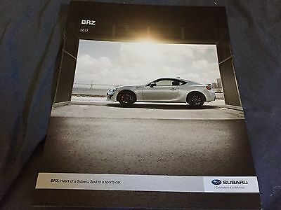 2017 Subaru BRZ USA Market Color Brochure Catalog Prospekt