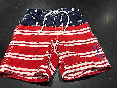 Toddler Boys Gap Swimsuit In Red White And Blue Size 3