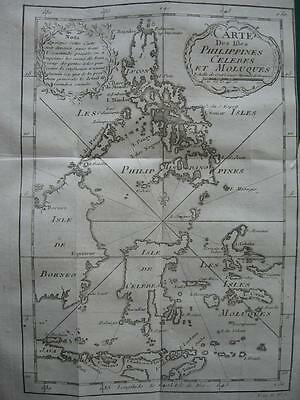 1749 - BELLIN - Map PHILIPPINES SULAWESI MOLUCCAS