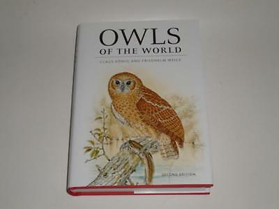 NEW Owls of the World by Claus Konig & Friedhelm Weick Yale Hardcover